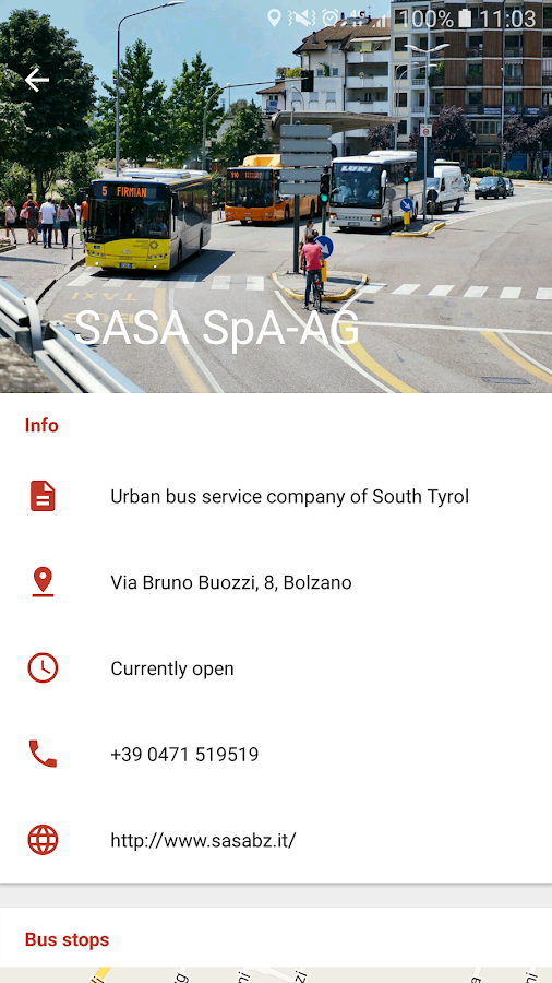 Buses South Tyrol (SasaBus)- screenshot