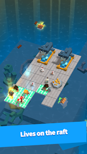 Idle Arks: Build at Sea MOD APK 2.1.1 [Unlimited Wood + Diamonds] 4
