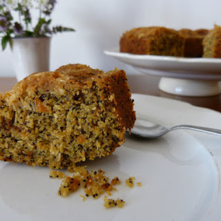 Citrus and Coconut Poppy Seed Cake - Paleo