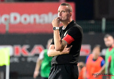 """Nicky Hayen teleurgesteld na nederlaag: """"We hebben meer gespeeld om niet te verliezen dan om te winnen"""""""