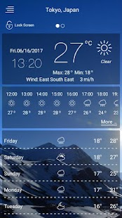 weather forecast- screenshot thumbnail