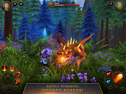 3D MMO Villagers & Heroes 4.40.4 (r53268) screenshots 15