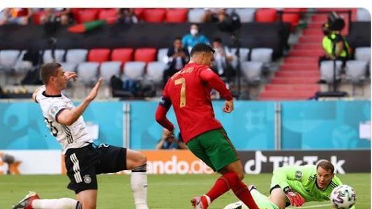 Menolak Tua, Cristiano Ronaldo Membelah Lapangan dengan Lari 92 Meter dalam 14,27 Detik - Bolasport.com