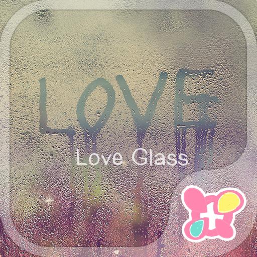 ★免費換裝★寫在朦胧玻璃上的LOVE 個人化 App LOGO-硬是要APP
