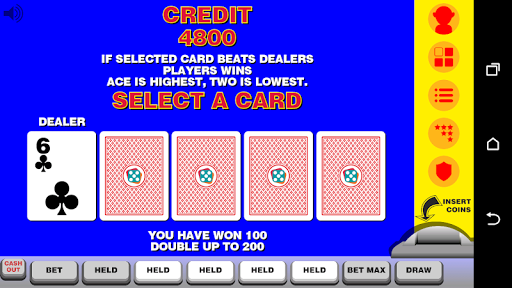 Video Poker with Double Up  screenshots 3