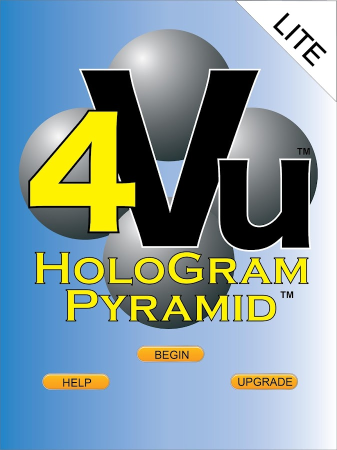 HoloGram Pyramid™ 4Vu™ LITE- screenshot