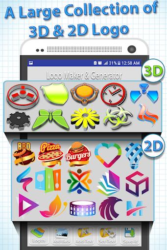 Logo Maker - Logo Creator, Generator & Designer 1.0.1 screenshots 1