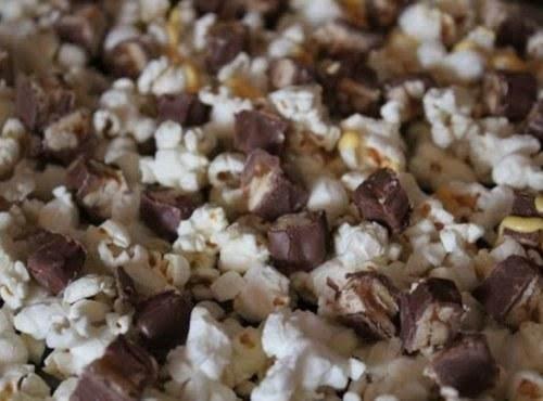 Snickers Popcorn Recipe