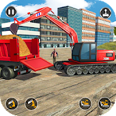 Excavator Simulator 2019 - Heavy Crane Drive Android APK Download Free By First Future Studio
