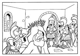 Photo: Jesús coronado de espinas