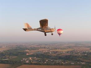 Photo: Vol de l' A22 autour du ballon la réole (33)