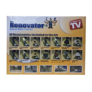 Renovator - Set de accesorii pentru renovare, 37 piese