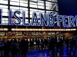 Photo: Pre-marathon transport to Staten Island