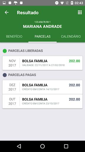 Bolsa Famu00edlia 2018 Parcelas e Calendu00e1rio 1.2.0 screenshots 3