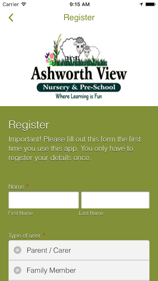 Ashworth View Nursery- screenshot