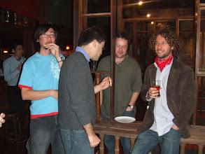 Photo: Chinghway, Chris, David, and Karl