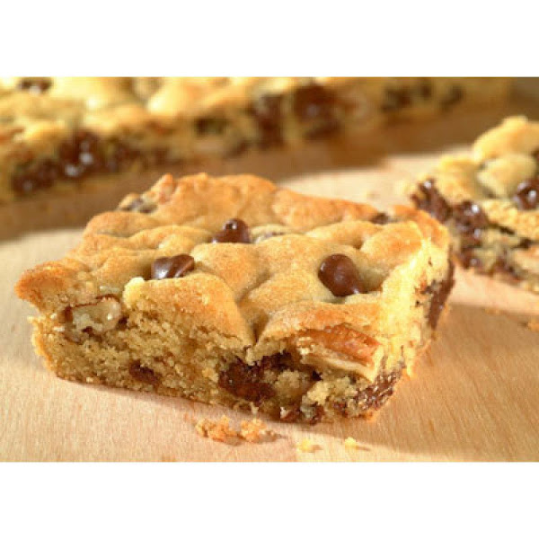 Yummy Toll House Bars Recipe