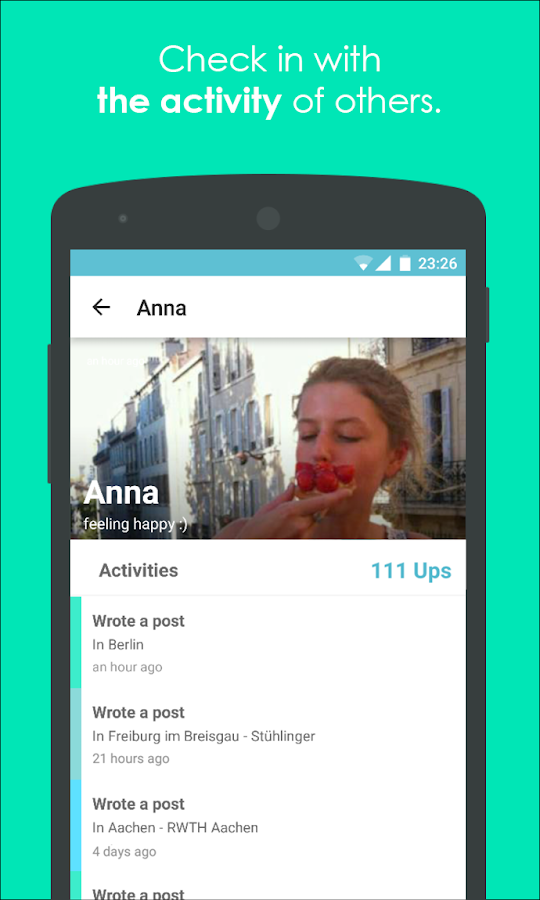 ZoneApp- screenshot