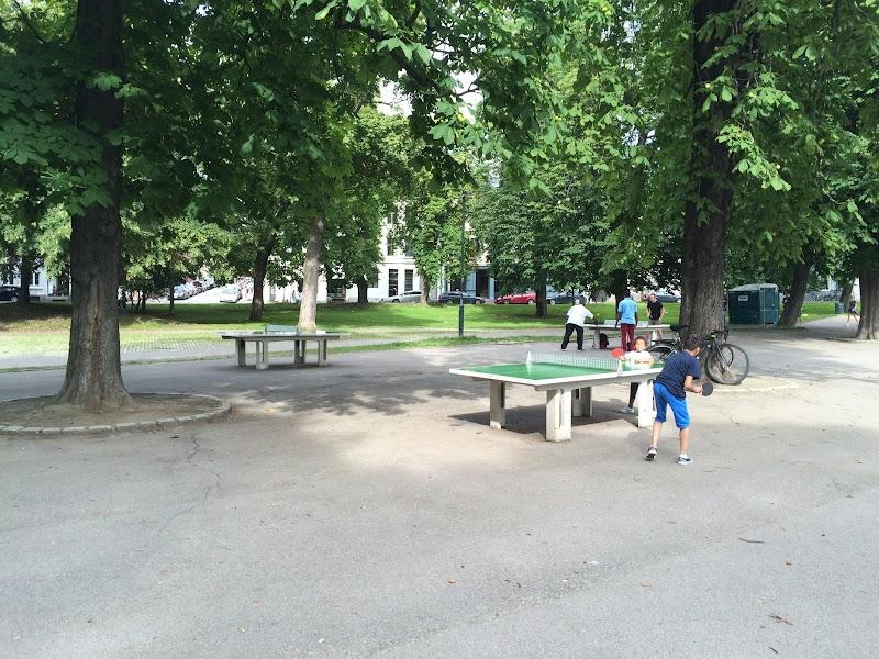 Oslo, table tennis