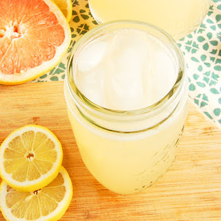 Homemade Grapefruit Soda.