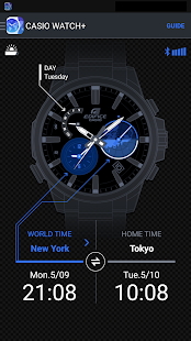 CASIO WATCH+: miniatura de captura de pantalla