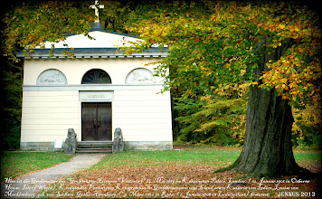 """Photo: The Louise Mausoleum is a tomb in the park of """"Ludwigslust"""". Built in 1808 for the late Duchess Luise, it was subsequently other members of the grand ducal house of Mecklenburg-Schwerin as grave lay. Louise of Mecklenburg (1756-1808) was the grandmother of Europe's grandmother Queen Victoria and Empress of India (born in London in 1819, died 1901 Isle of Wight)."""