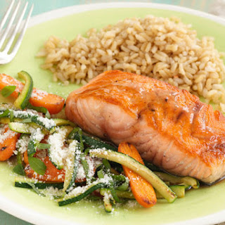 Honey-Balsamic Glazed Salmon