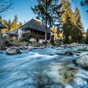 Orava village museum // Slovakia by Laky Kucej - Landscapes Waterscapes (  )