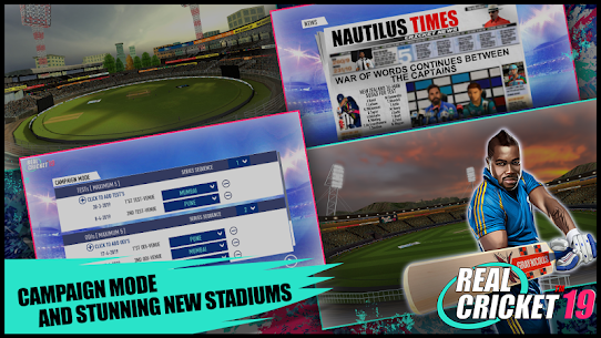 Real Cricket™ 19 App Latest Version Download For Android and iPhone 6