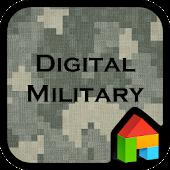 Digital military dodol theme