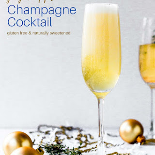 Spicy Ginger Apple Champagne Cocktail Recipe
