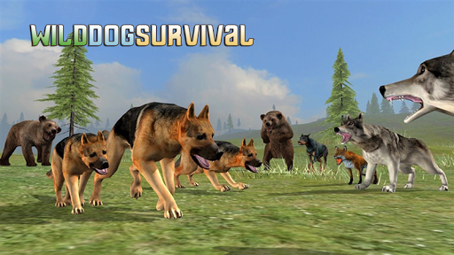 Wild Dog Survival Simulator screenshot 1