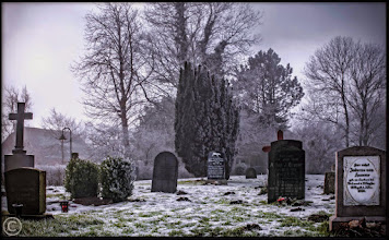 Photo: Friedhof der Kirchengemeinde St. Theresia auf Nordstrand
