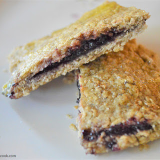 Blueberry Stuffed Breakfast Bars Recipe
