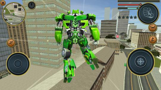 Robot Truck Transformer US Police Robot War Games 2