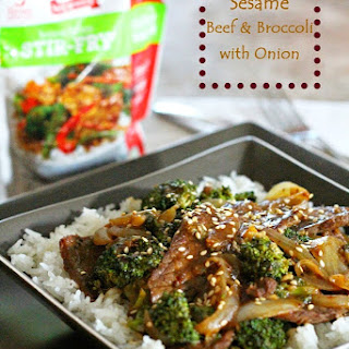 20 Minute Meals Sesame Beef And Broccoli