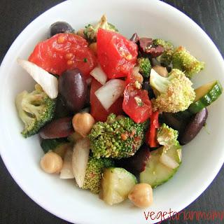 Mediterran Crunch Salad – #glutenfree #vegan