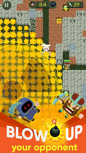 Dig Bombers: PvP multiplayer digging fight 3.3.3 screenshots 11
