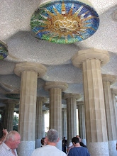 Photo: Gaudi Parc Guell detail.