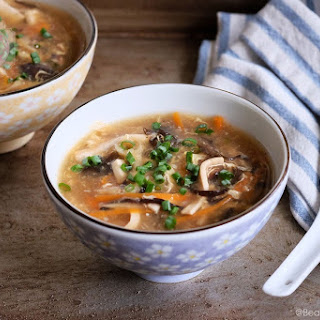 Chinese Hot & Sour Soup.