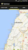 Screenshot of Spinneys Lebanon
