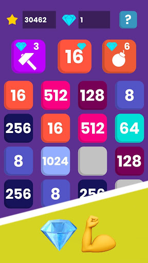 2048 New Era - free number brain out test game android2mod screenshots 8