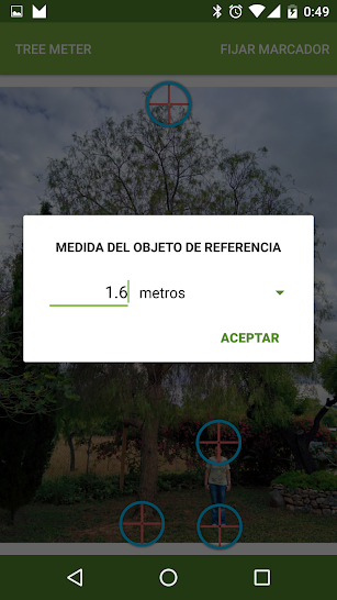 Tree Meter screenshot for Android