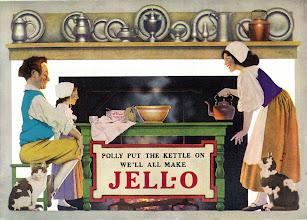 Photo: a Maxfield Parrish ad for Jello
