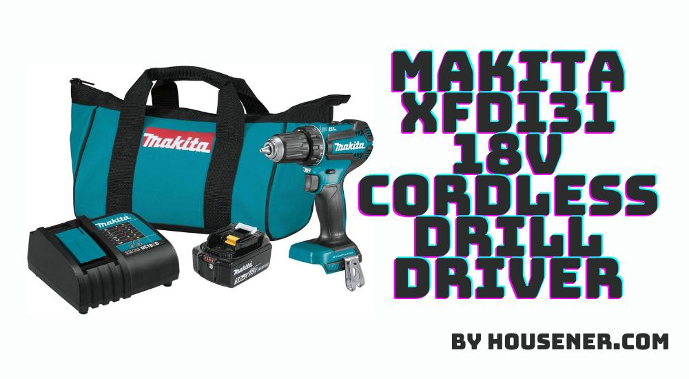 Makita XFD131 18V cordless drill