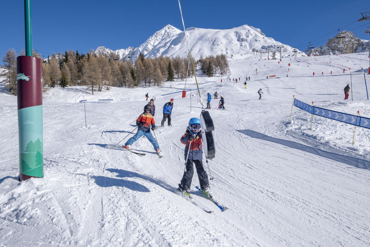 Les Arcs is the best place to ski for beginners