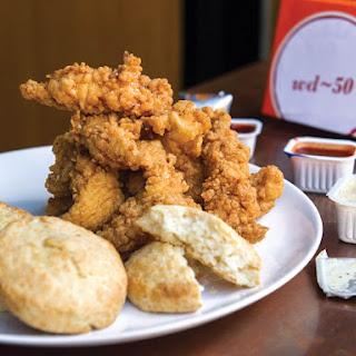 Popeyes-Style Chicken Tenders From 'Fried & True'.