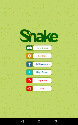 android Classic Retro Snake Screenshot 6