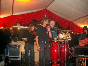 Photo: German tour 2006 (met violist-drummer Matthew)
