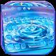 Blue Rain Droplets Keyboard Theme APK